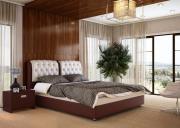 Кровать Орматек Como 5 Brown (TM- Venge) / Бежевый Cream (Terra-101),...