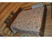 Старенный Кровать двуспальная, кедр (2200*2000*1100mm)