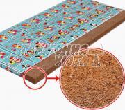 Кокосовый матрас в детскую кроватку 6 см 60x120 СибТекс
