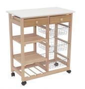 Сервировочный столик Мебелик В 41H Бук