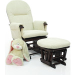 Кресло-качалка Tutti Bambini Daisy GC35 Mahogany текстиль крем