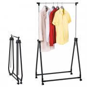 """Стойка для одежды Tatkraft """"Halland"""", складная, высота 99 см - 167 см"""