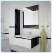 Мебель для ванной комнаты Astra Form Альфа 90 белая