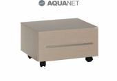 Мебель для ванной AQUANET Тумба подкатная Нота 58 Светлый дуб