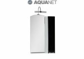 Мебель для ванной AQUANET Зеркало-шкаф Акванет Асти 55 Черное