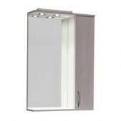 Мебель для ванной Зеркало-шкаф Aquanet Донна 60 беленый дуб