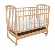 Кроватка Агат Золушка-2 Светлый, Без матраса