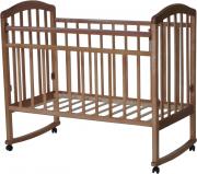 """Детская кроватка Антел """"Алита"""" (2) орех"""