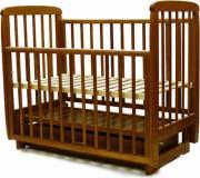 Кроватка Соня 04 маятник/ящик ПВХ вишня
