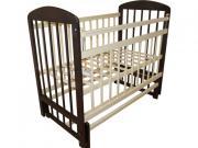 Кроватки Кровать детская Мой малыш 9 маятник попер кач с накладкой [09...