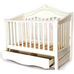 Кроватка-диван Birichino Victoria 140х70 из 3-х частей белый
