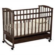 Кроватка Агат Золушка-2 Шоколад, Без матраса