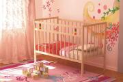 Кровать детская Колибри-Мини псП