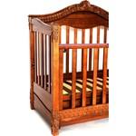 Кроватка-диван Birichino Victoria 140х70 из 3-х частей орех