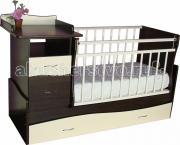 Кроватка-трансформер Островок уюта Чунга-Чанга (маятник поперечный)