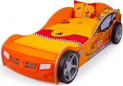 Кроватки Advesta Кровать машина Champion оранжевая