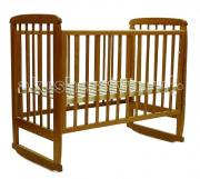 Детская кроватка Соня 2 (колесо-качалка)