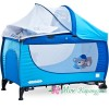 Caretero манеж-кровать GRANDE BLUE (синий)
