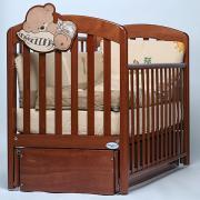 Кроватка детская Baby Italia Leo с маятником,