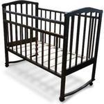 Кроватка Агат Золушка 1 (шоколад) 52102