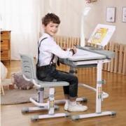 Kantor Kyddy S Blue Детская школьная парта трансформер + растущий стул