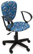 Tetchair Кресло CH413 ткань Якоря на синем