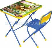 Ника Набор мебели Маша и Медведь (стол-парта+стул)
