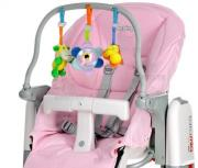 Peg-Perego Комплект для стульев Peg-Perego, цвет: розовый