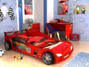 Комплект детской мебели Грифон Рейсер K2 Красный