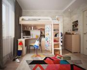 Комплект детской мебели Мебельсон Мультиплекс фасад маркерный Дуб...
