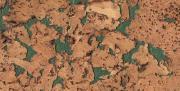 Настенная пробка Corkstyle, Monte Green 600 х 300 х 3 мм., (уп.1,98)
