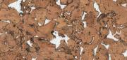 Настенная пробка Corkstyle, Monte White 600 х 300 х 3 мм., (уп.1,98)