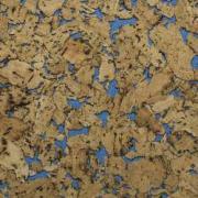 Настенная пробка Corkstyle (Коркстайл) Monte Blue 600 x 300 x 3 мм...