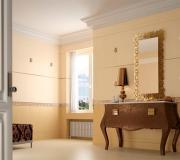 Керамическая плитка Ceracasa Pompei Cream 25x73 настенная