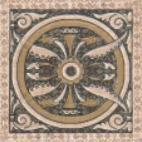 Керамическая плитка Палермо Декор напольный 9,8x9,8