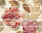 Керамическая плитка Ceramica Classic Illyria flowers Бордюр 7,5x25