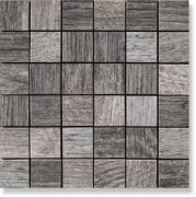 Керамическая плитка Serenissima Wild Wood Mosaico Tessera Wild Grey...
