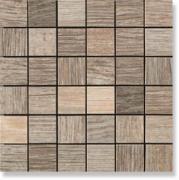 Керамическая плитка Serenissima Wild Wood Mosaico Tessera Wild Sand...