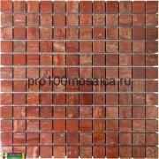 RED STONE 23x23. Мозаика Anatolian Stone, 305*305 мм (CHAKMAKS) (ЕД....