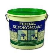 Бетоноконтакт FEIDAL BETOKONTAKT / ФАЙДАЛЬ БЕТОКОНТАКТ для внутренних...
