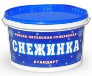 Краска для стен и потолков Снежинка Крафор (14 кг)