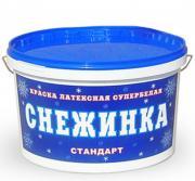 Краска для стен и потолков Снежинка Крафор (7 кг)