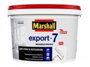 Краска латексная матовая Marshall Export-7 / Маршал Экспорт-7 (10 л)