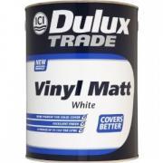 Краска Dulux Trade Vinil Matt / Дюлакс белая матовая (5 л)