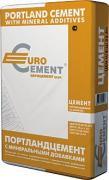 Портландцемент М-500 Д-20 Eurocement / Евроцемент (50 кг)
