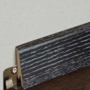 Плинтус шпонированный Goodwin (Гудвин) Дуб Маренго брашированный 2400...