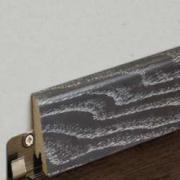 Плинтус шпонированный Goodwin (Гудвин) Дуб Кастелло Неро брашированный...
