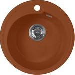 Кухонная мойка AquaGranitEx M-45 450х450 терракот (M-45 307)