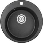 Мойка кухонная Granula 41,5х49 см черный (GR-4801 черный)