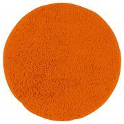 """Коврик для ванной """"Axentia"""", круглый, цвет: оранжевый, диаметр 50 см"""